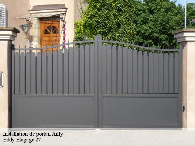 Installation de portail  ailly-27600